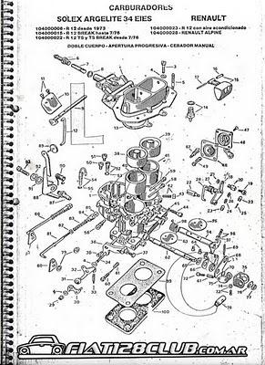 Manual Carburador Solex H34 Pdf